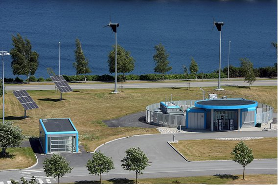 The Energy Park and hydrogen refuelling station at Statoils